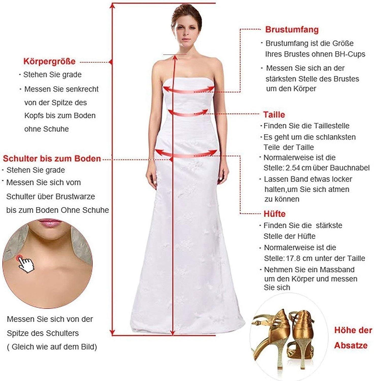 Nanger Robe de Demoiselle d'honneur en Mousseline d'épaule Longue pour Femme Robe de fête de Mariage Robe de Bal Lilas