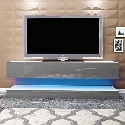 Soddyenergy Mobile per TV sospeso Moderno con LED per ...
