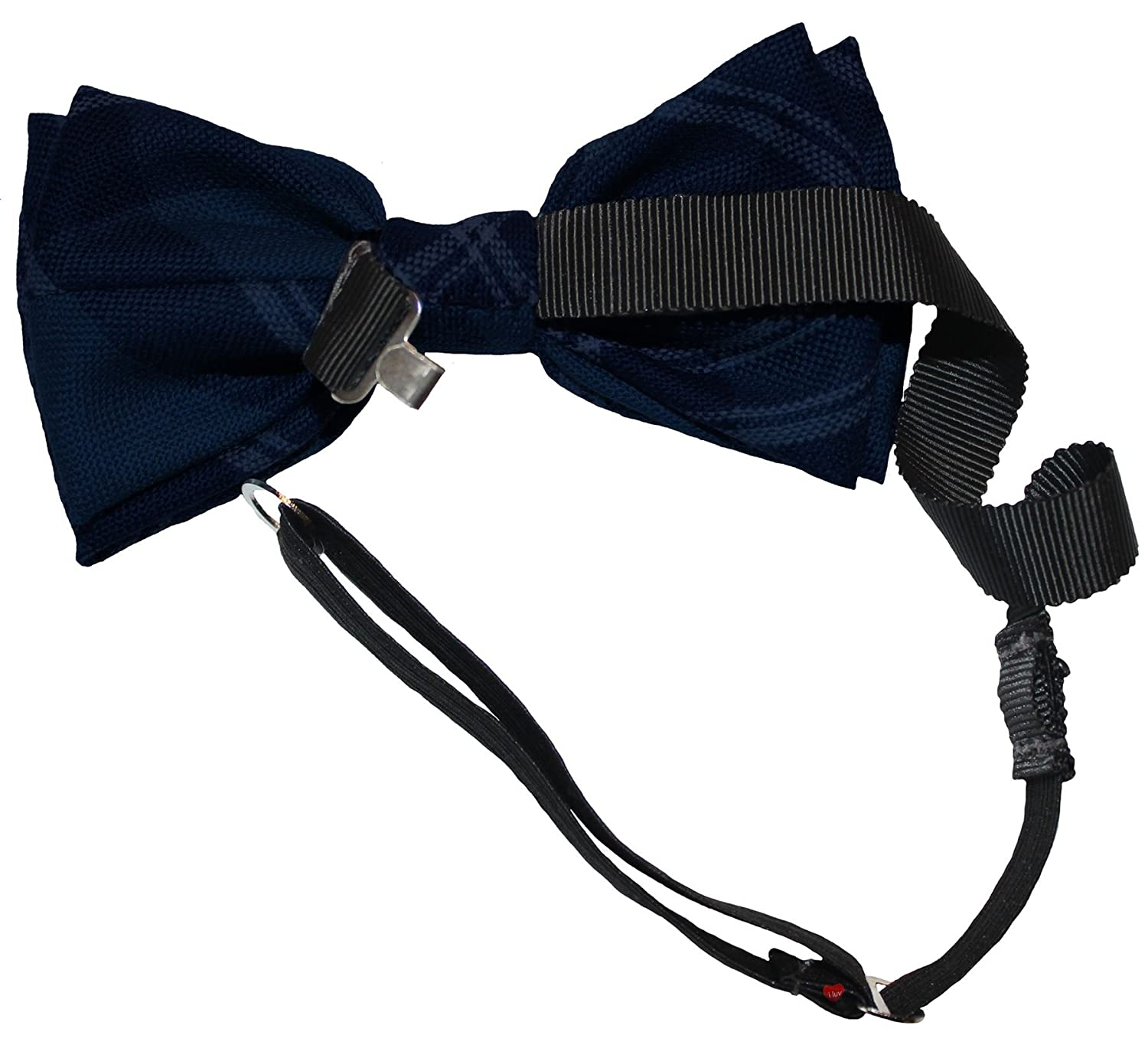 Mens Bow Tie Soft Wool Woven And Made in Scotland in Kerr Ancient Tartan Adjustable Strap for easy fastening