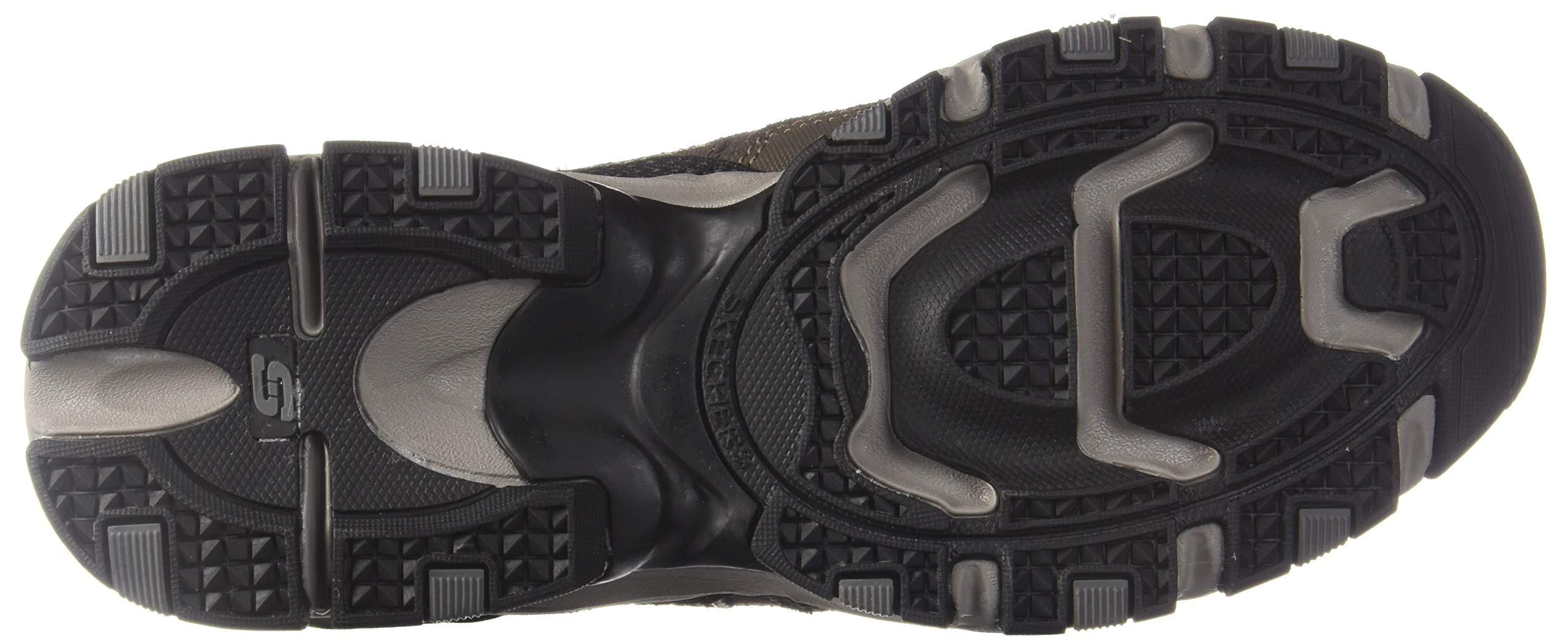 Skechers Sport Men's Vigor 2.0 Trait Memory Foam Sneaker, Brown/Black, 7 M US by Skechers (Image #3)