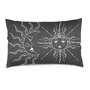 Amazon.com: Dragon Sword Boho - Funda de almohada elegante ...