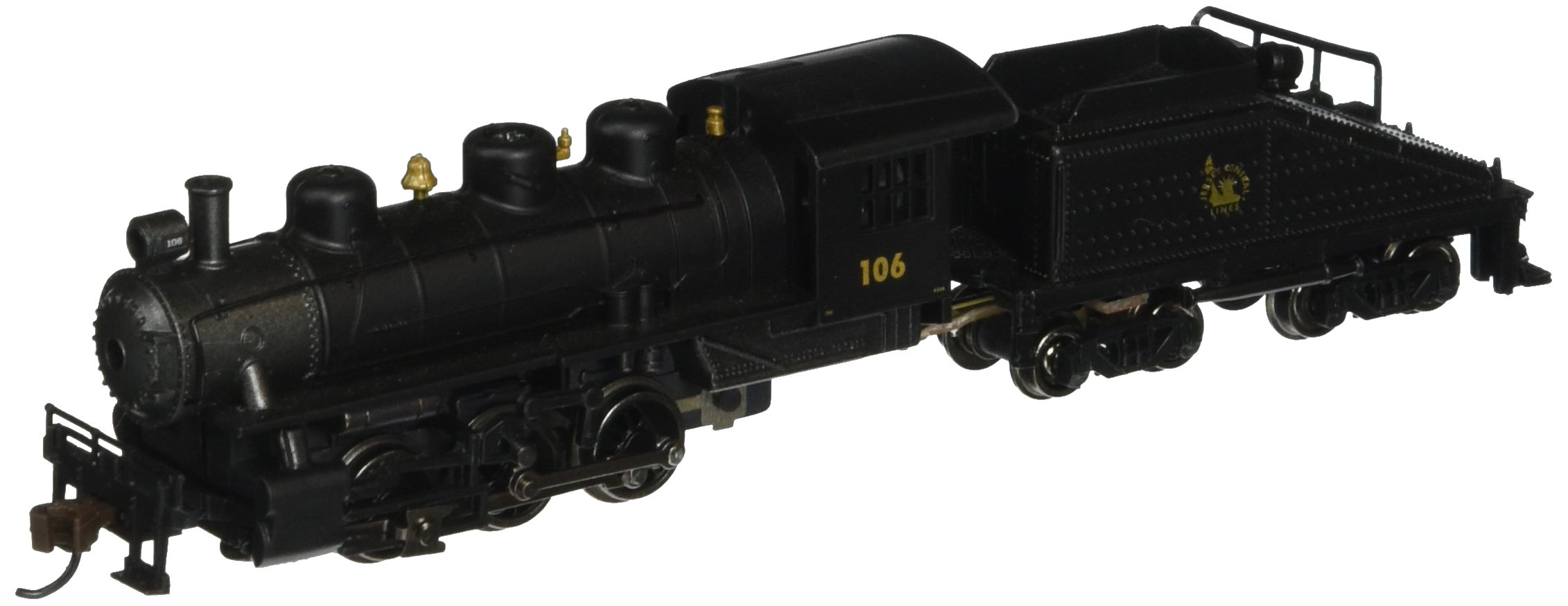 Bachmann Industries USRA 0-6-0 Locomotive with Switcher & Tender - Central New Jersey (N Scale)
