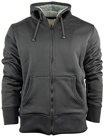 American Legend Men's Zip Up Hoodie/Hooded Jacket With Fleece ...