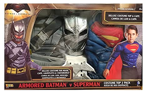 Armored Batman V Superman 2-IN-1 Costume