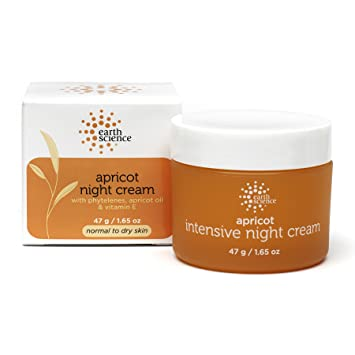 Earth Science Apricot Night Cream - 1.65 Oz Murad Advanced Active Radiance Serum, 1 Oz (Pack of 2)