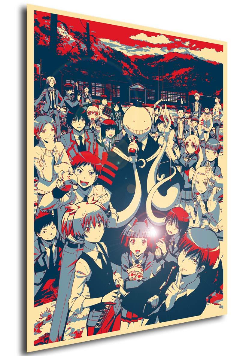 Instabuy Poster Assassination Classroom - Propaganda ...
