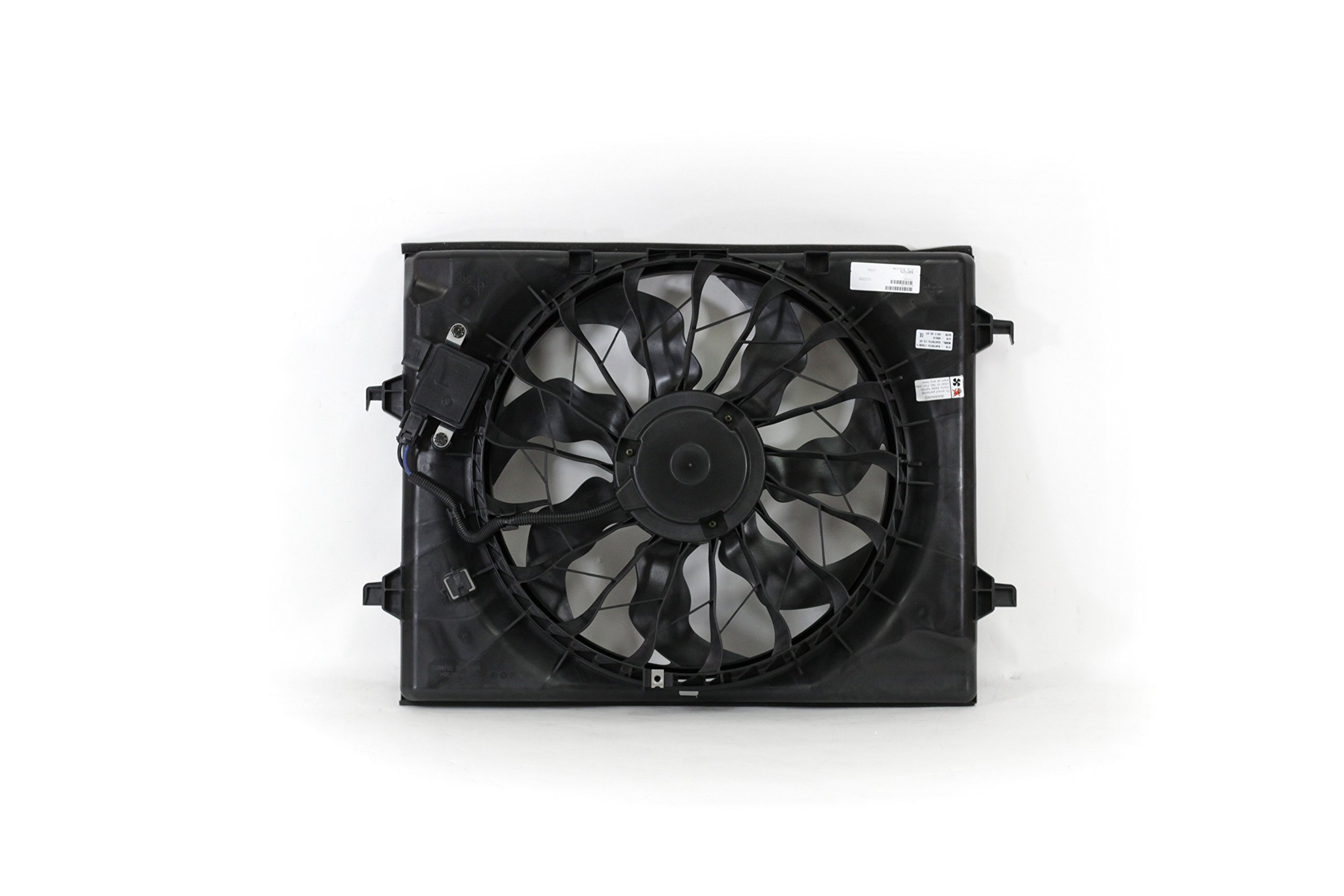 Engine Cooling Fan Assembly - Cooling Direct 25380D5200 16-17 Kia Optima 2.4L WITH Power Module