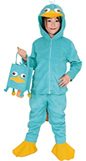 disney phineas and ferb perry kids costume unisex 120cm 140cm 95147m - Phineas Halloween Costume