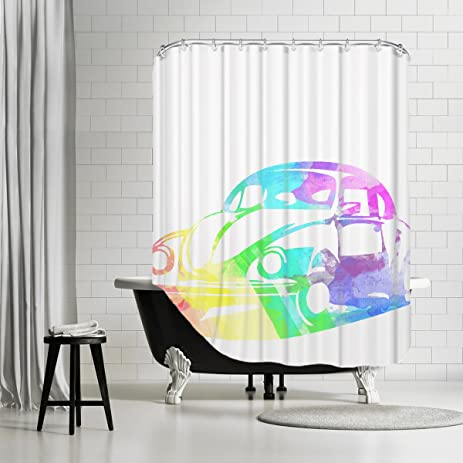Amazon Americanflat Shower Curtain