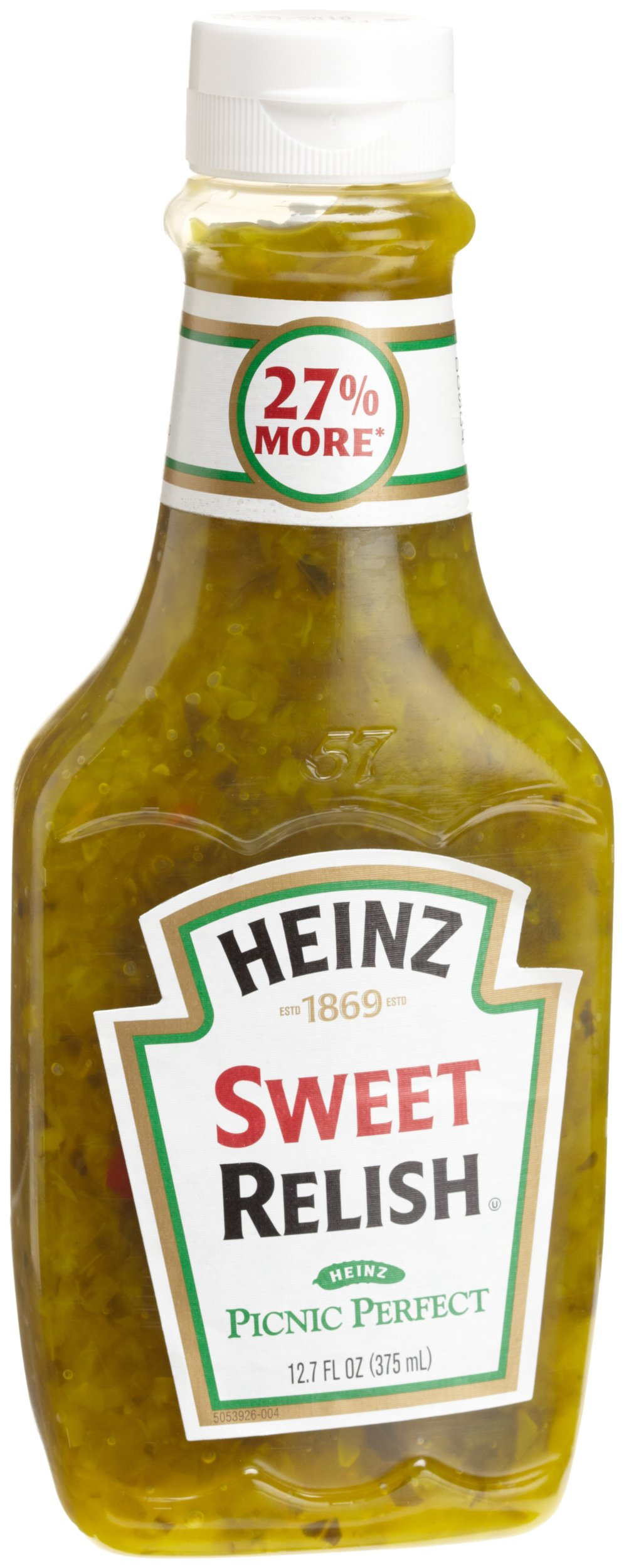 Heinz Sweet Relish, 12.7 Ounce (Pack of 12) by Heinz