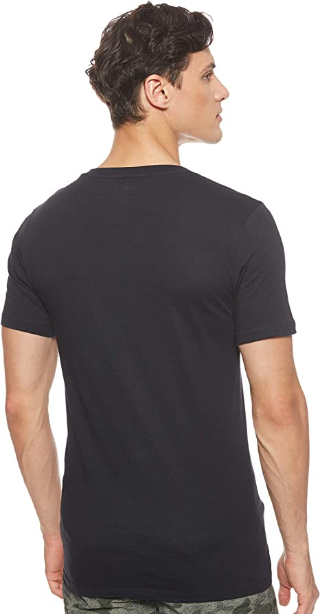 Lacoste 3 Pack Camiseta Hombre, Essentials, Cuello Pico, Ajuste ...