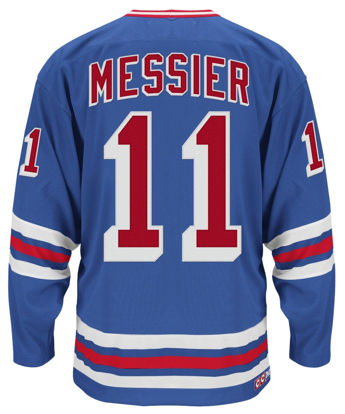 c7a9b8937 Amazon.com   adidas Mark Messier New York Rangers CCM Heroes of Hockey  Authentic Blue Jersey   Sports   Outdoors
