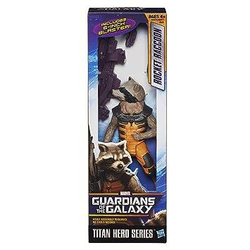 Guardians of The Galaxy Rocket Racoon Titan Hero Figure 12 inch