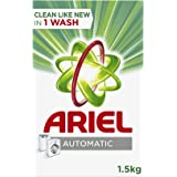 Ariel Automatic Laundry Powder Detergent Original Scent 1.5 kg