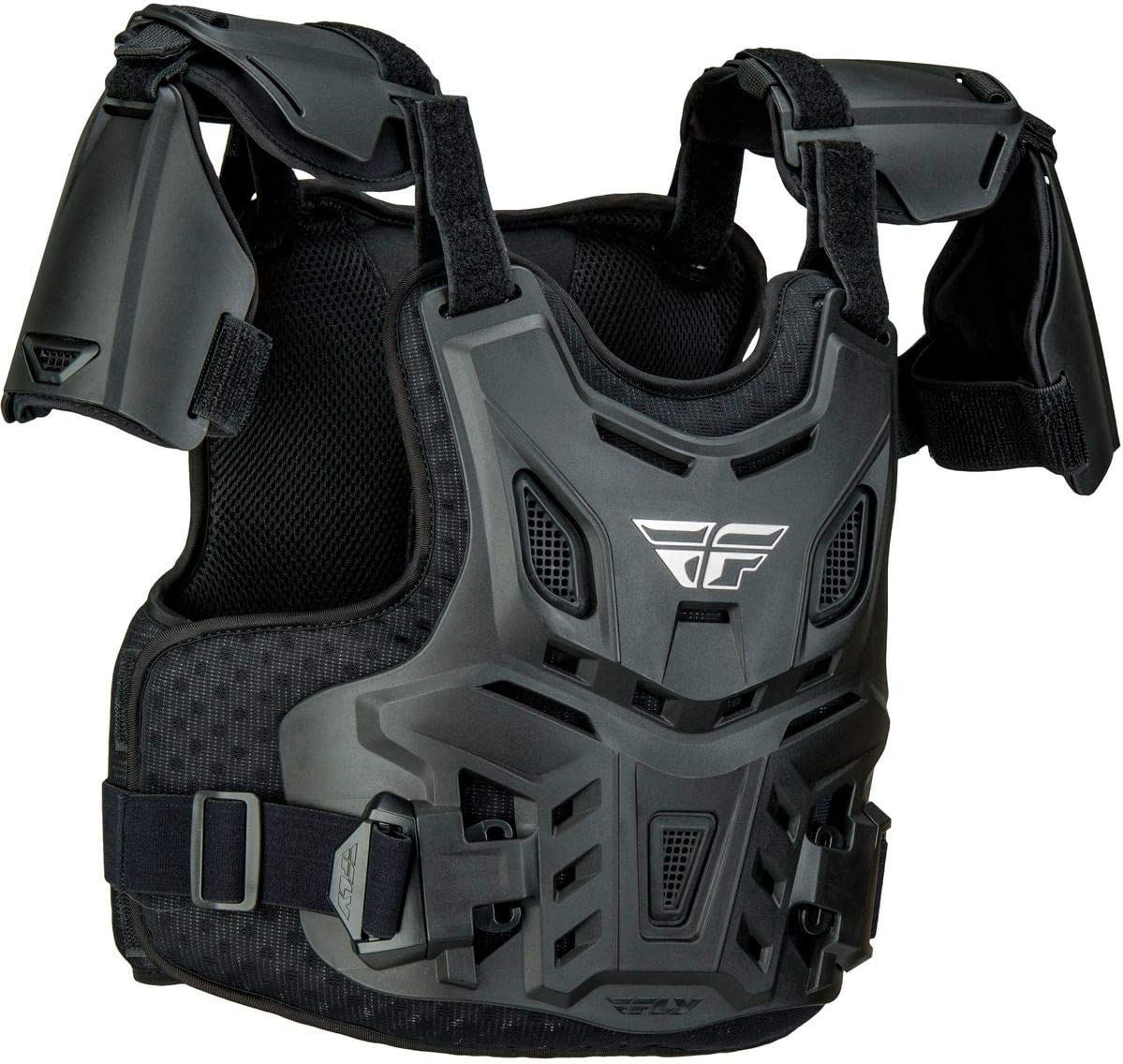 Fly Racing Youth Revel Race CE Roost Guard Black