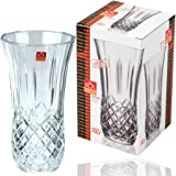 RCRGrand vase Opéra en verre taillé cristal 25 cm