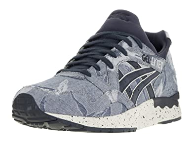 best service de565 3928c ASICS Mens Gel-Lyte V Denim Running Athletic Shoes