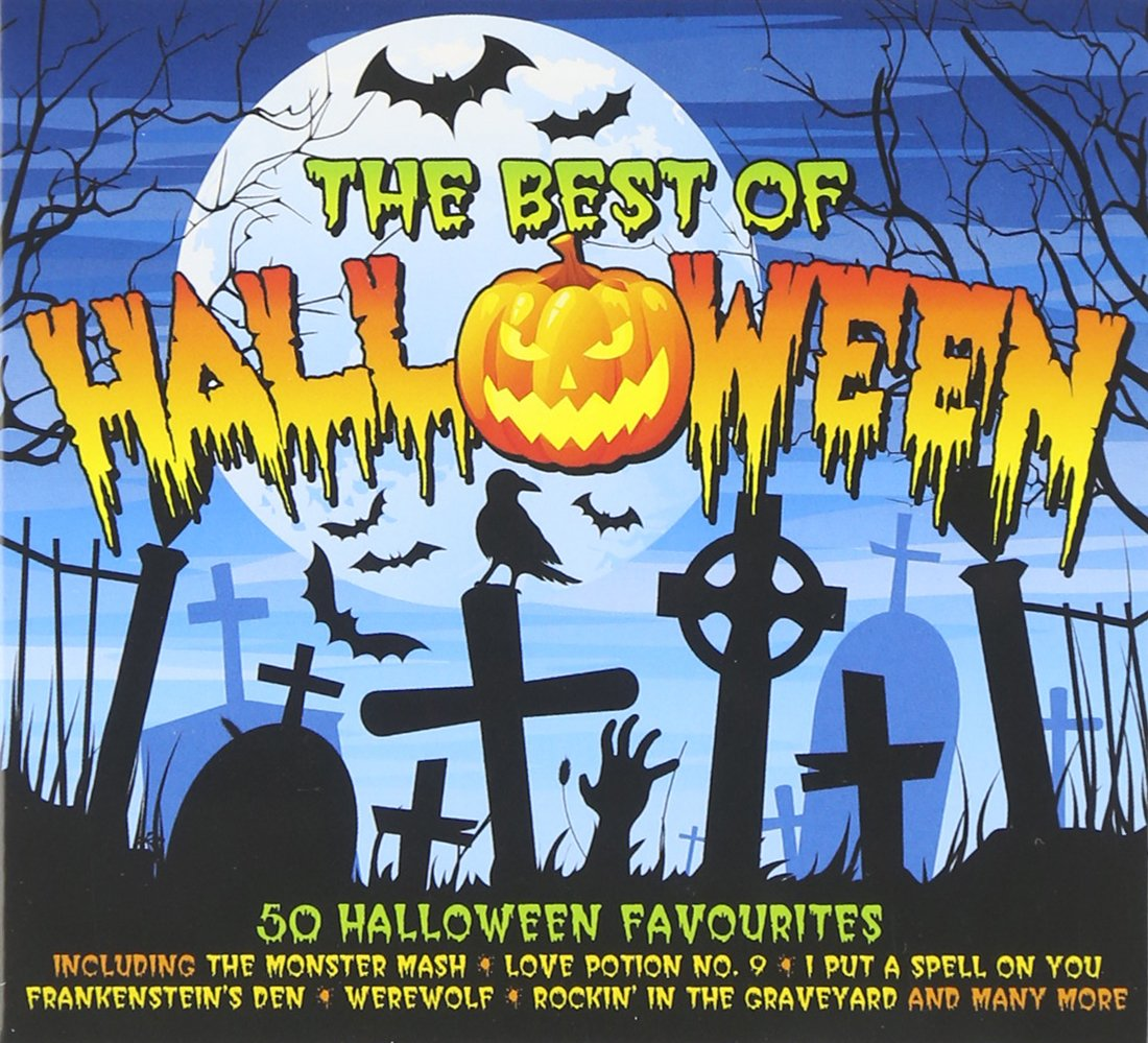 various halloween the best of various amazoncom music - 100 Halloween Songs