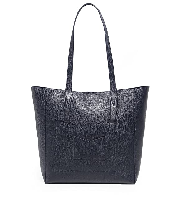 161d29ff0164 MICHAEL Michael Kors Women s Junie Pebbled Leather Tote Bag One Size  Admiral  Amazon.co.uk  Clothing