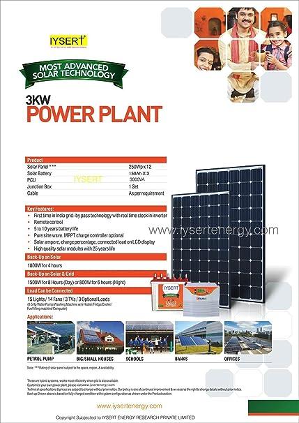 Solar Off Grid 3KW: Amazon in: Electronics