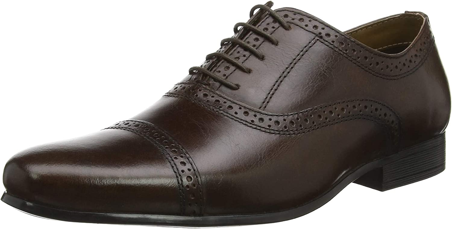 Red Now on sale Tape New Orleans Mall Men's Lace-up Oxford