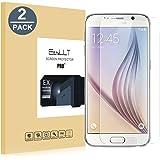 [2-Pack]Samsung Galaxy S6 Pellicola Protettiva, EasyULT 2 Pack Pellicola Protettiva in Vetro Temperato per Samsung S6(Vetro con Durezza 9H, Spessore di 0,26 mm,Bordi Arrotondati da 2,5D-Shockproof)