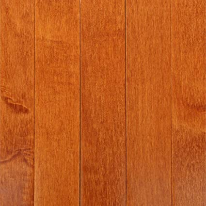 Bruce Cinnamon Maple 34 In Thick X 2 14 In Wide X Random Length