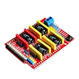 printer expansion board - SODIAL(R) New cnc shield v3 engraving machine / 3D Printer / A4988 driver expansion card for Arduino