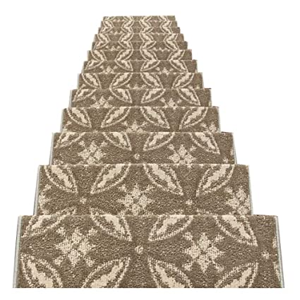 LIXIONG Chinese Style Self Sticking Self Priming Carpet Stair Treads Runner  Rug Pad Solid