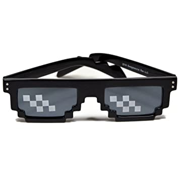 0177897791 Buy Deal With It Sunglasses Thug Life Pixelated 8 Bit MLG Internet UV  Protected Meme Sunglasses Online at Low Prices in India - Amazon.in