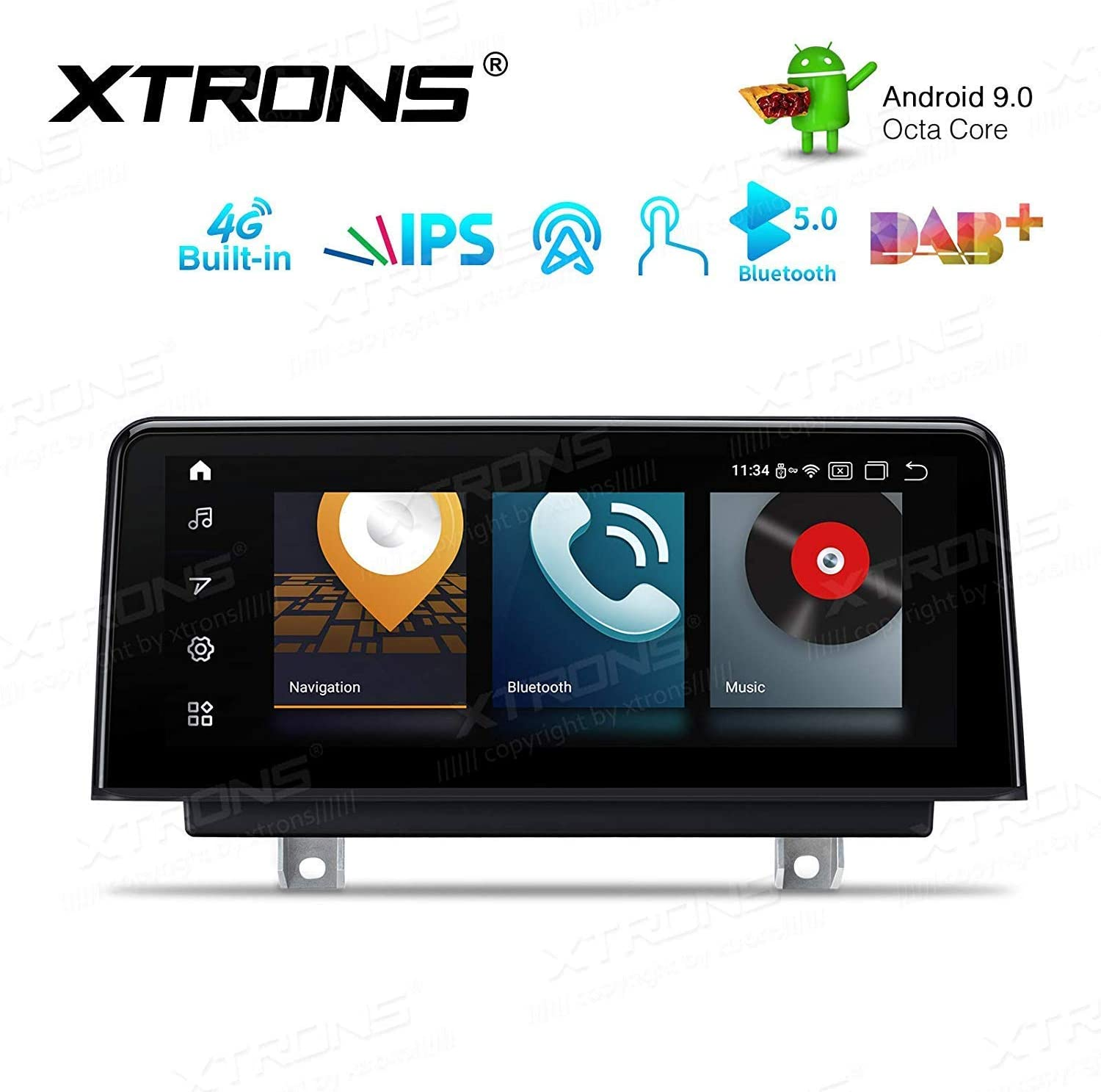 Xtrons 10 25 Inch Android 9 0 4gb Ram 64gb Rom For Bmw Elektronik