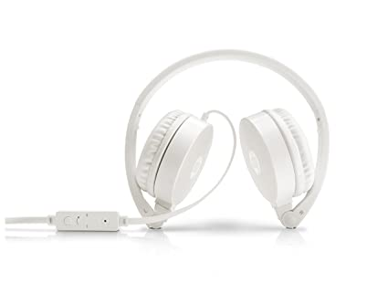 3a45d608962 Amazon.in: Buy HP H2800 Headset Stereo Headset with Mic (White ...