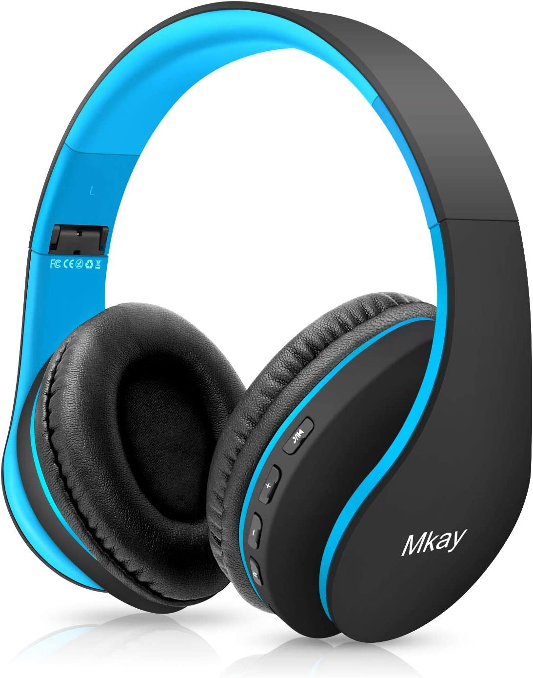 Best Bluetooth Headphones for Conference Calls MKay Over Ear Headset V5.0 with Microphone