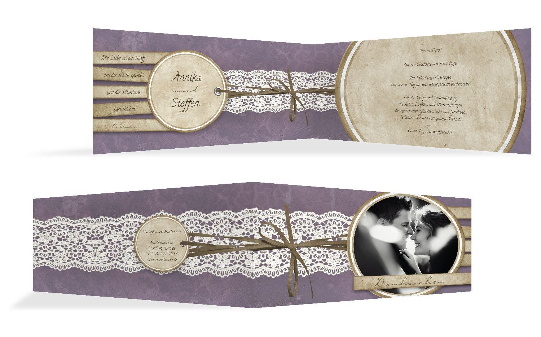 Hochzeit Dankeskarte Vintage Lace, 20 Karten, Hellbraun B07B6Q98CF | Charmantes Design  | Erste Klasse in seiner Klasse  | Zürich Online Shop