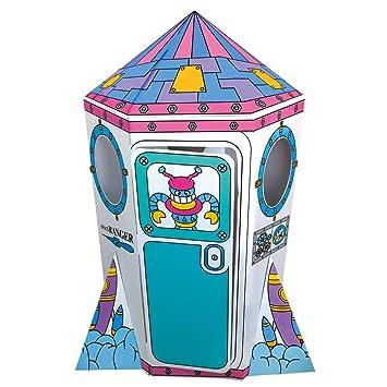 Bino 44004 Rakete Aus Well Pappe Amazonde Spielzeug