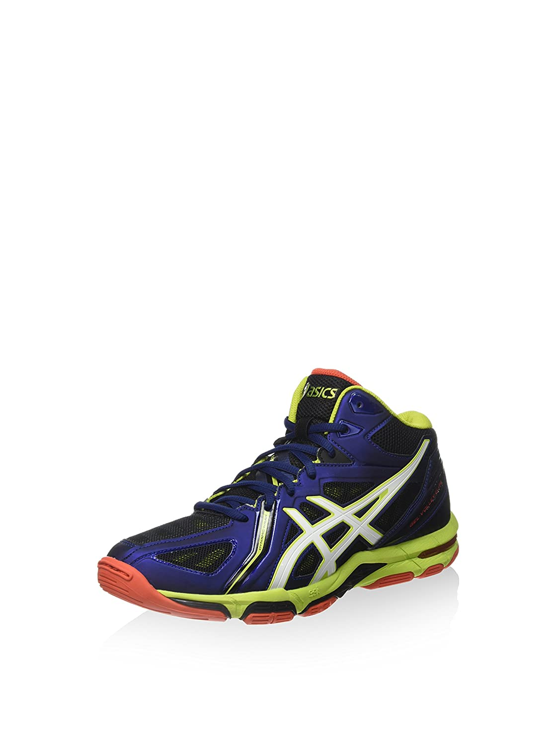 ASICS Men s Gel-Volley Elite 3 Mt Volleyball Shoes (b501n) Blue  (Navy Bianco Lime) 11 UK  Buy Online at Low Prices in India - Amazon.in a516f09d95