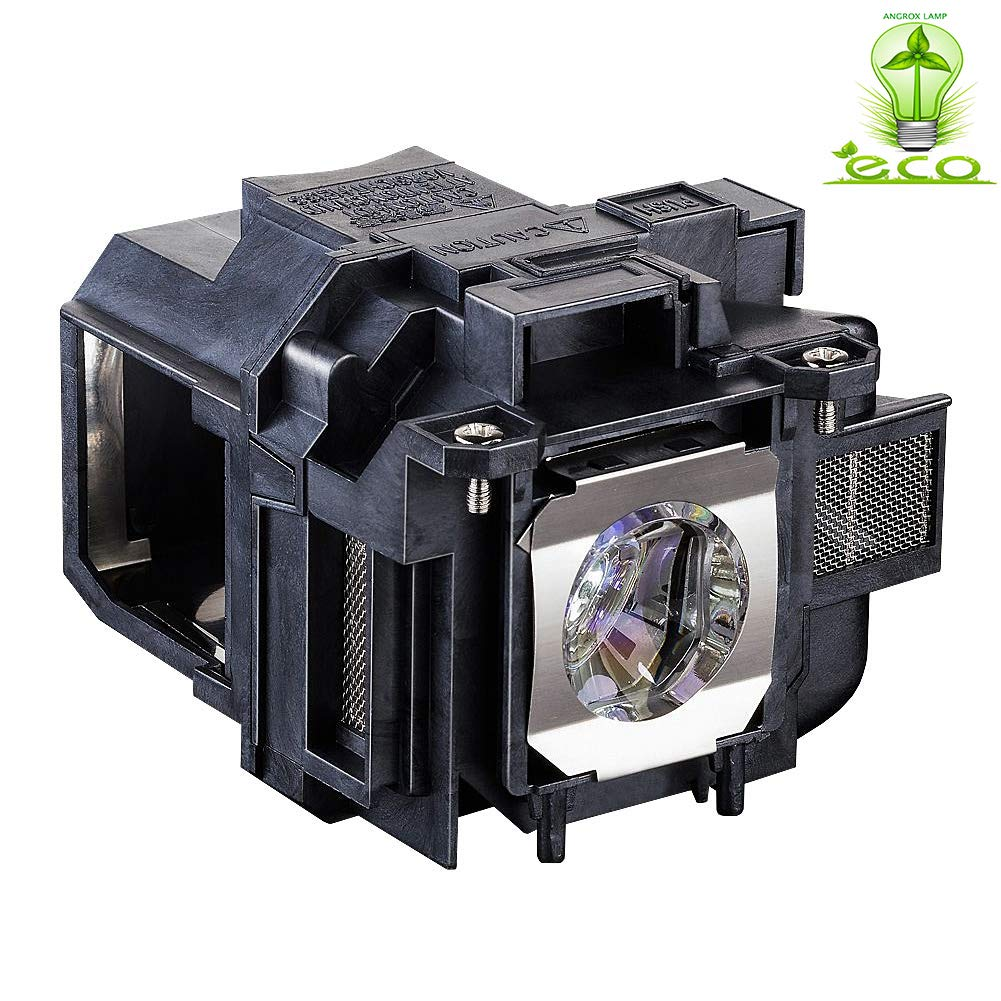 Angrox V13h010l88 Lamp Bulb for Epson ELPLP88 Powerlite Home Cinema 1040 2040 2045 740HD EX7240 EX9200 VS240 VS340 Projector Replacement Lamp Bulb