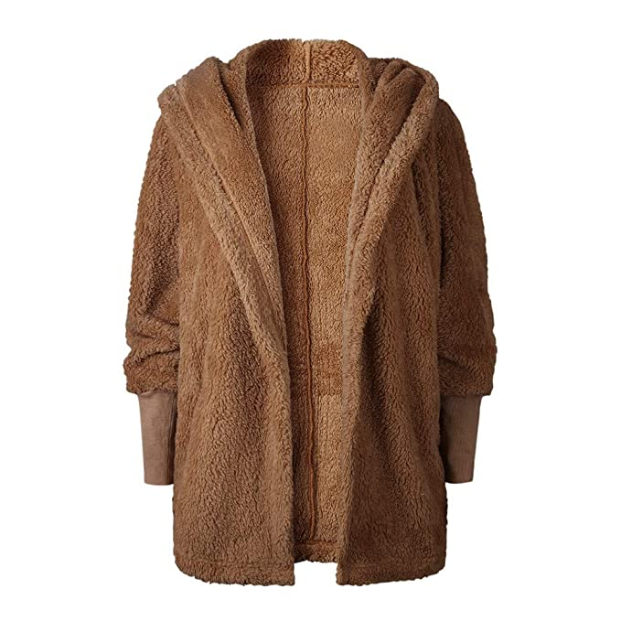 ♔ Malbaba 2019 Winter Coat, Womens Ladies Hooded Fluffy Coat Jacket Cardigan Overcoat Outwear Jumper: Amazon.com: Grocery & Gourmet Food