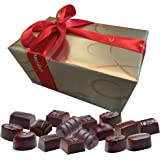 Leonidas Belgian Chocolates | All Dark Chocolates in a Beautiful Gift Ballotin Box. Imported fine Chocolate from Belgium (1 x