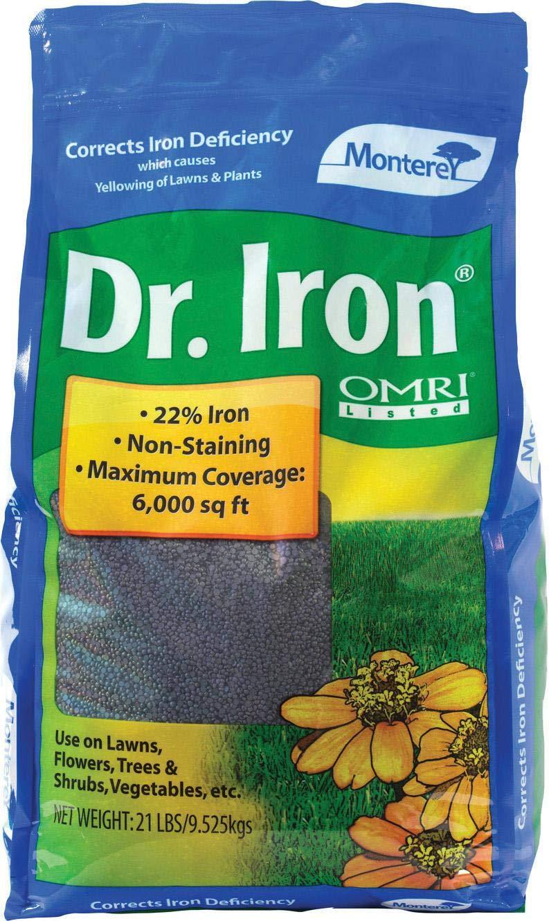 Dr. Iron Organic Iron Treatment Bagged 21 Lb.