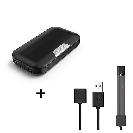 Pack Duo - Cargador portátil compatible Juul + cable de ...