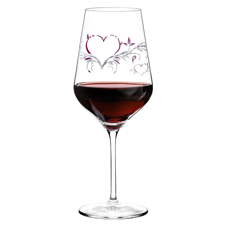 di Design Motivo Cuore Calice per Vino Rosso Ritzenhoff 3000008 F14