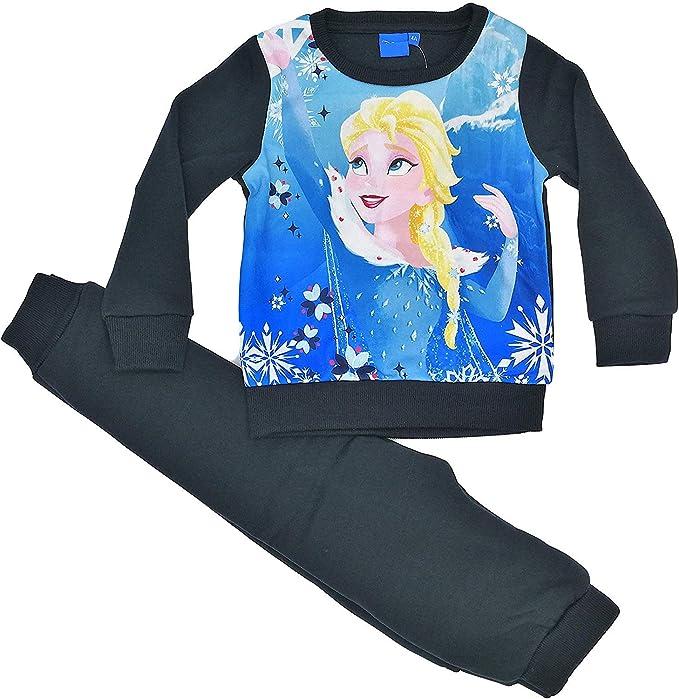 Disney Chándal Infantil Frozen niñas Forro Interior Afelpado ...