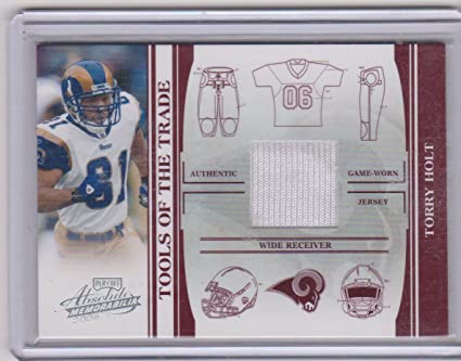 online store b133e 5453e Amazon.com: 2006 Playoff Absolute Torry Holt Rams 79/100 ...