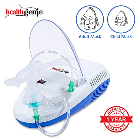 Healthgenie Compressor Nebulizer Complete Kit Amazon In Health