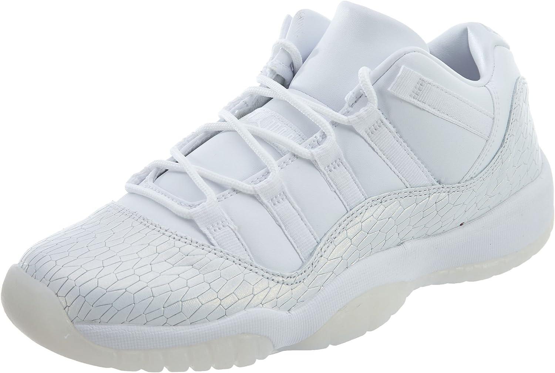 AIR JORDAN 11 RET LOW PR HC GG GIRLS  WHITE//WHITE PURE PLATINUM