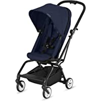2018 CYBEX Eezy S Twist Stroller, Denim Blue