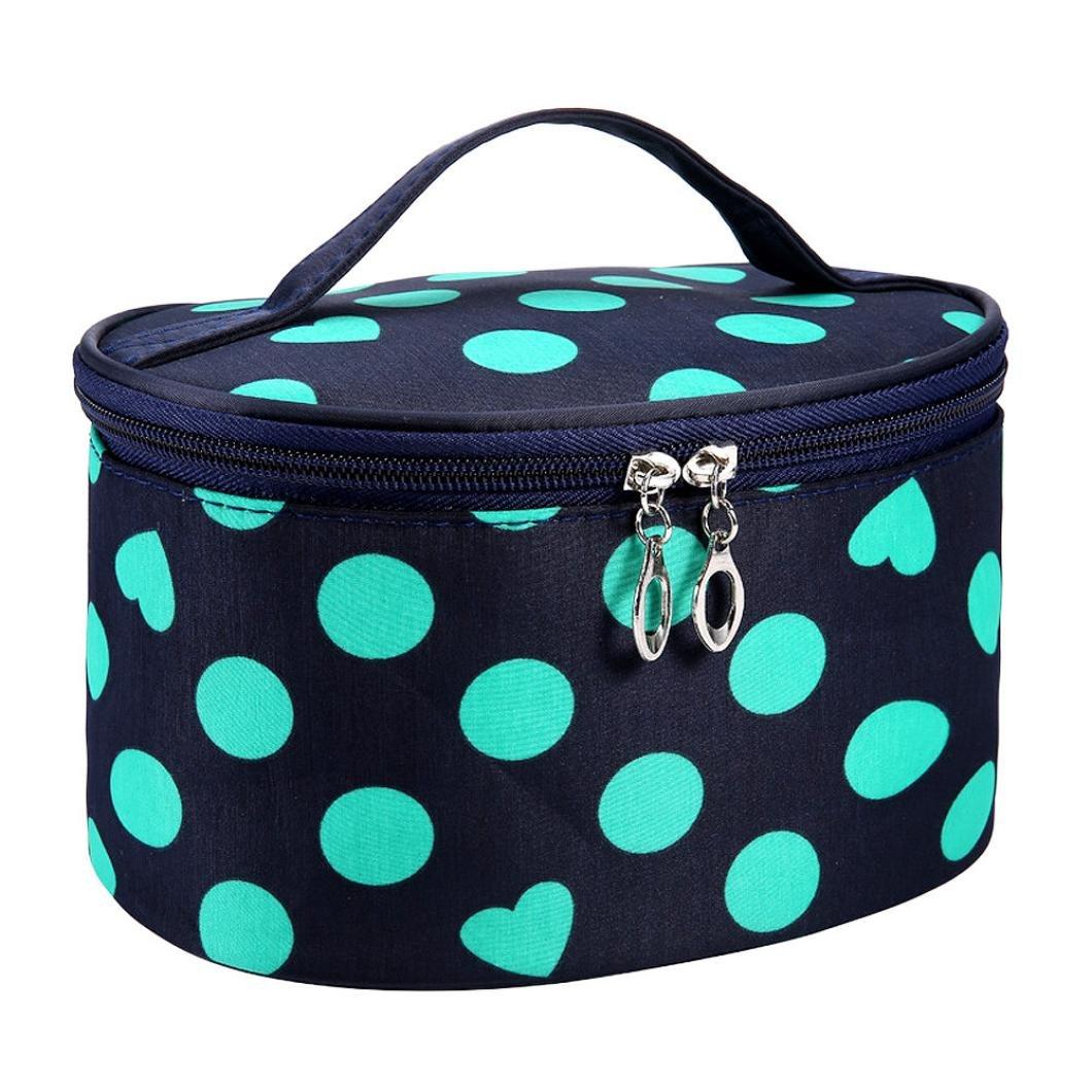 Beauty Girl 2017 Square Bow Stripe Cosmetic Bag Waterproof Zipper Cosmetic Bags Durable In Use Eye Shadow Applicator Beauty & Health