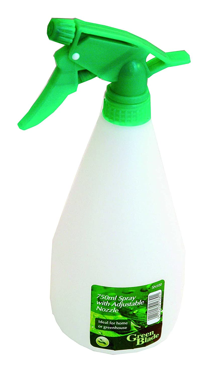 750 ml Gardening Spray Bottle with Adjustable Nozzle Green Blade SN100 ST-HA-BB-SN100