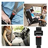 "9"" Car Seat Belt Extender 7/8'' Metal Tongue Safety Certified Seatbelt Extension - 2 Pack"